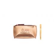 Пинцет ELAN proficiency GOLD с брендированной косметичкой Gold для бровей