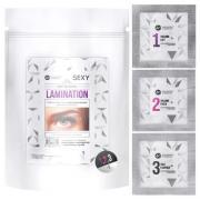 Набор составов SEXY LAMINATION, для ламинирования ресниц и бровей в саше (3 саше x 2мл)