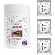 Набор составов Sexy Lamination №1 Volume Lift, 3 саше по 2 мл